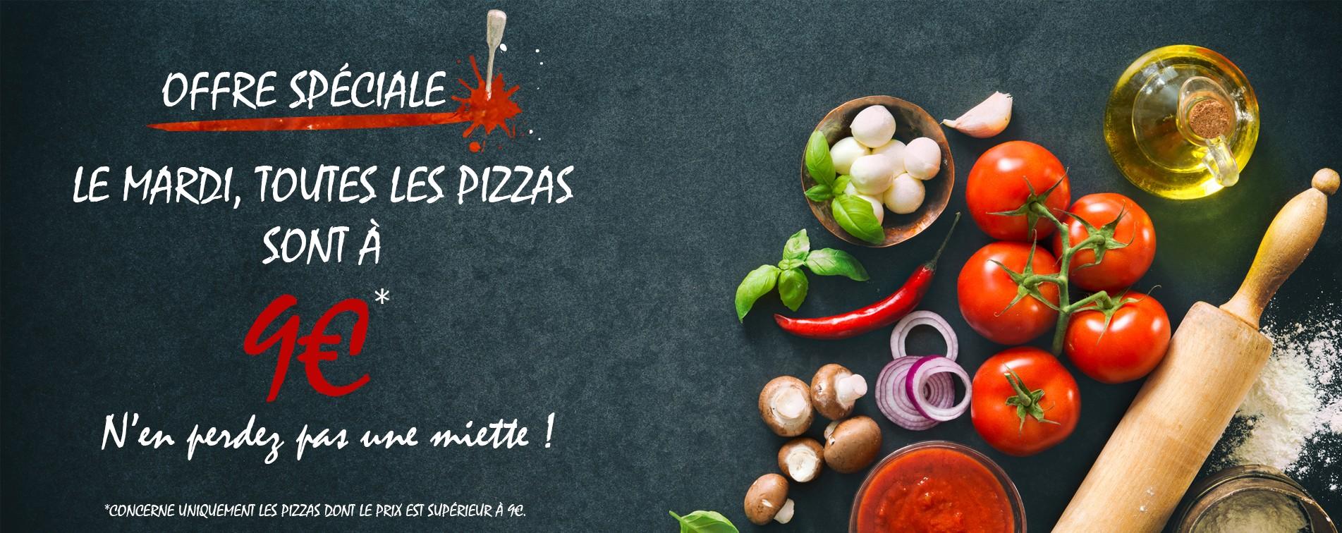Pizzas à 9€ chez Pizza Remy Franconville